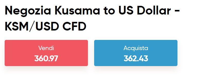Capital.com CFD Kusama