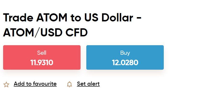 Capital.com Cosmos ATOM CFD