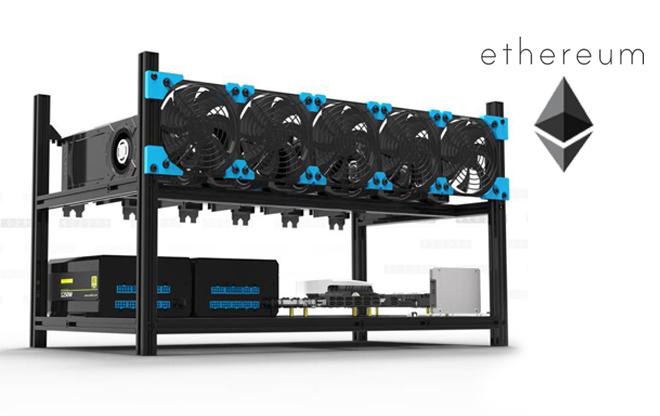 Postazione di mining su ETH