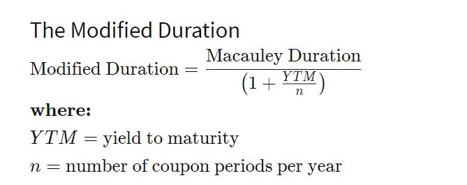 calcolo della modified duration dei fondi obbligazionari