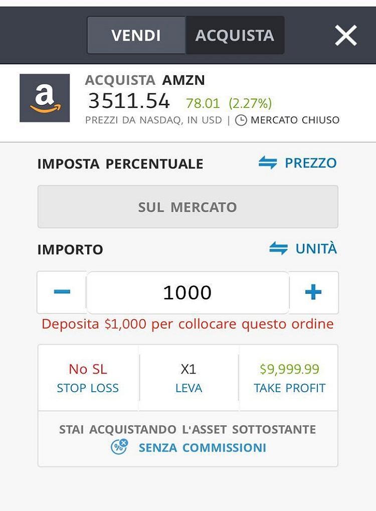Investimenti Redditizi Amazon