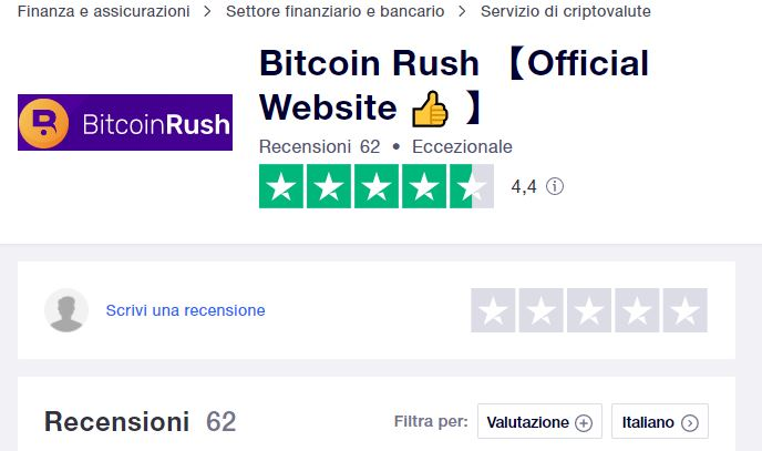 Bitcoin Rush Trustpilot