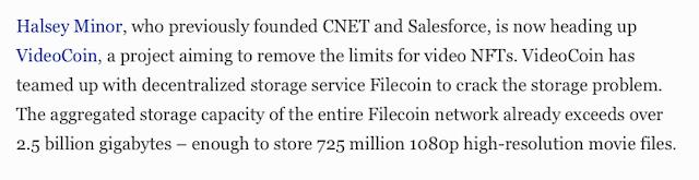 Forbes cita Filecoin