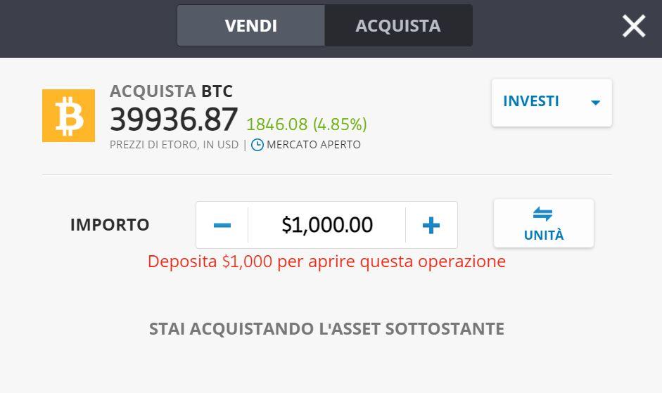 Come Comprare Bitcoin con Carta di Credito/Debito