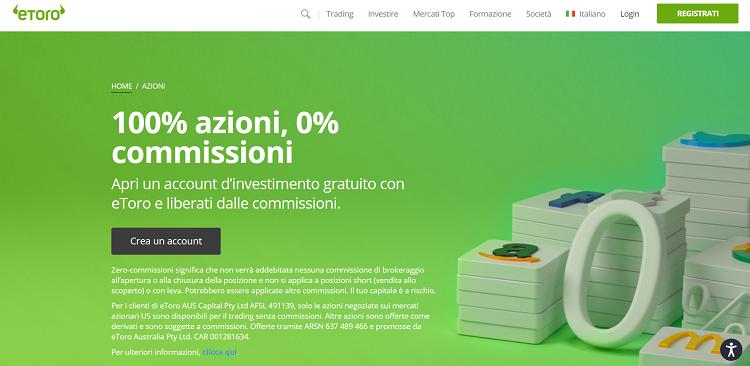 etoro broker trading online azioni campari