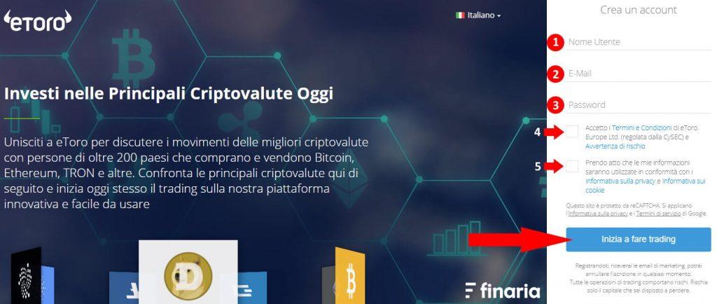 etoro registrazione investire ethereum o bitcoin