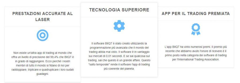 BitQT funzionalità