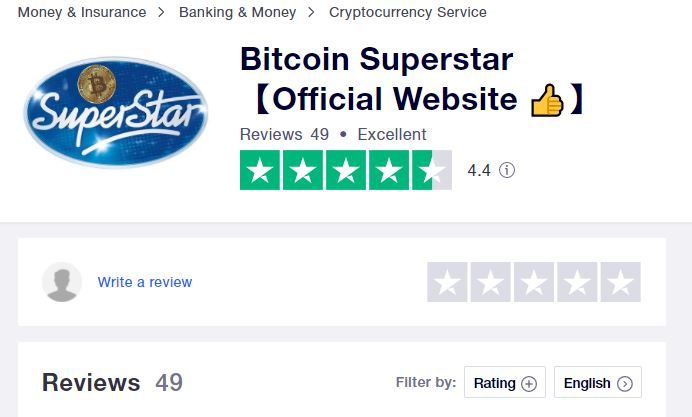Bitcoin Superstar Trustpilot