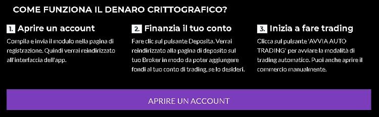 Crypto Cash come registrarsi