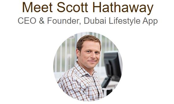 Dubai Lifestyle App fondatore