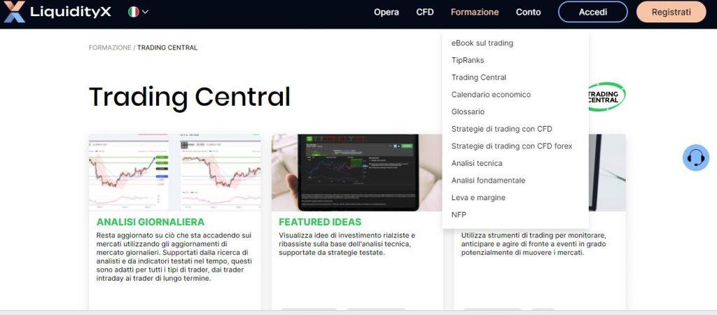 LiquidityX formazione