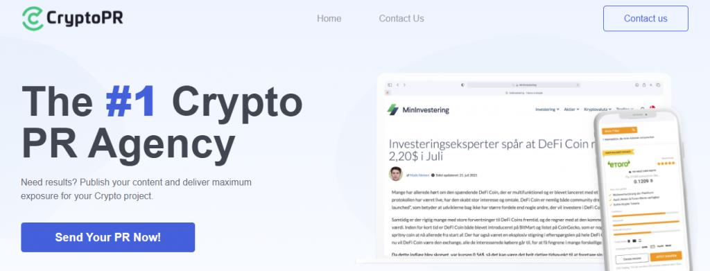 cryptopr homepage