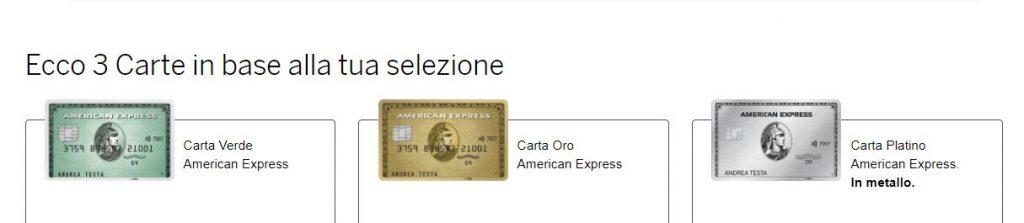 Carte AmEx